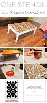 cutting edge furniture. a diy stenciled coffee table using the casablanca craft stencil from cutting edge stencils http furniture u