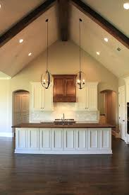 full image for kitchen lighting ideas sloped ceiling recessed trim island vaulted cathedral ceilings