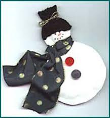 نتیجه تصویری برای ساخت ادم برفی عروسکی