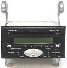 2004-2005 Scion XB Factory Stereo 6 Disc Changer MP3 CD Player OEM ...