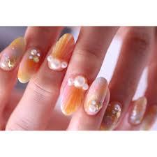 今年流行りの Nail Salon M Crystalエムクリスタルのネイルデザイン