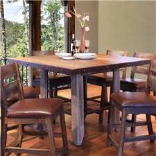 international furniture direct 900 antique 52 counter height dining table