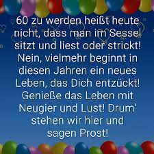 ᐅ Glückwünsche Zum 60 Geburtstag Beliebt Lustig Kreativ