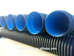 ads 4 x single wall corrugated perforated pipe drain 12 fittings