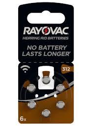 <b>Батарейки</b> для слуховых аппаратов 180 mAh <b>RAYOVAC</b> ...