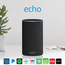 Mã 157ELSALE hoàn 7% đơn 300K] Loa thông minh Amazon New Echo ( 2nd  Generation) màu đen