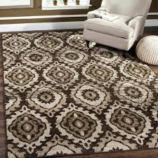 brown cream rug and red rugs