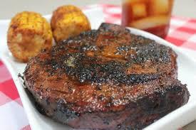 reverse sear smoked ribeye steaks