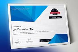 Corporate Certificate Template Certificate Stationery Templates Creative Market 23