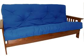 futon mattress covers. Plain Mattress Bright Navy Blue Futon Pad For Darker Coated Wooden Bench With Armrest And  Back On Futon Mattress Covers O