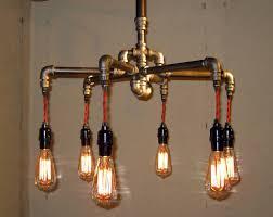 cool plumbing pipe light fixture