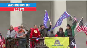 Protestors breach Capitol steps as ...