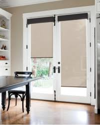 french doors with blinds. French Doors With Blinds And Dog Door N
