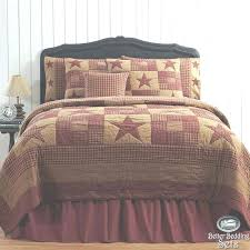 country quilted bedding country rustic bedding sets bedroom rustic western star twin queen cal king quilt