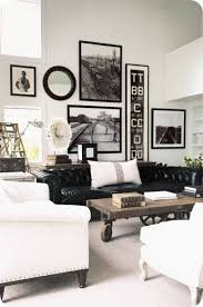 black and white inspired decoration