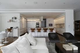 living room and kitchen of modern interior design for big house creative large dining ideas terrific