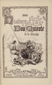 iconography of don quixote the history of don quixote de la