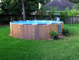 above ground pool pad ideas