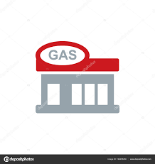 Gas Station Logo Gas Station Logo Icon Design Stock Vector Putracetol 199455258