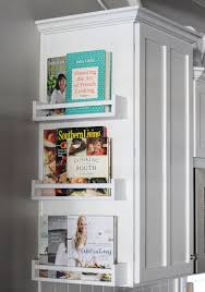 Image Smart Ways The Spruce 10 Stylish Cookbook Display And Storage Ideas