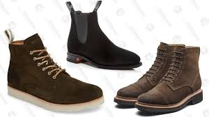 blackstone om 53 plain toe boots r m williams suede chelsea boots grenson burnished suede