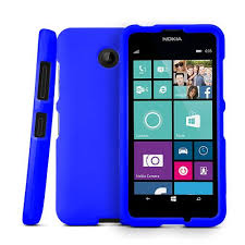 nokia lumia 635 white. blue nokia lumia 635 matte rubberized hard case cover; perfect fit as best coolest design white