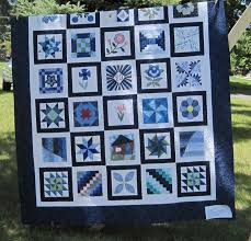 The Literate Quilter: Friendship Ring Quilt Guild Show & Sandy made this quilt for a challenge with a Michigan theme. Oceana County  is the