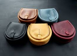 leather coin purse tray wallet