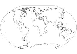 Afbeeldingsresultaat Voor Wereldkaart Kleurplaat Art Wereldkaart