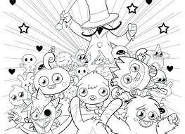 Moshi Monsters Coloriages Monsters Coloring Pages For Adults