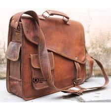 leather messenger bag for women