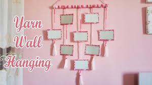 diy yarn <b>wall hanging</b> / <b>photo wall hanging</b> - YouTube