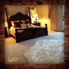 bear skin rug sheepskin faux fur area rug thick white or off white