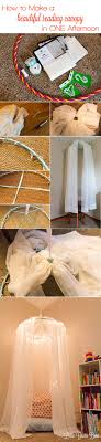 Diy Canopy Best 25 Diy Canopy Ideas On Pinterest Girls Bedroom Canopy Bed