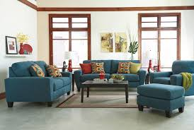 Living Room 3 Piece Sets Signature Design By Ashley Sagen Teal 3 Piece Living Room Set