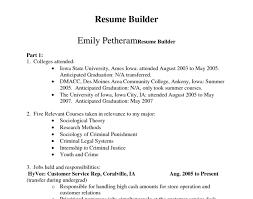 Free Trial Resume Builder Easy Maker Build Online A Homey 13
