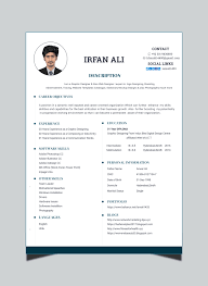 Professional Design Resume Do Professional Design Resume Cv For You By Ali66009