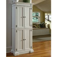 Vintage White Wooden Bathroom Wall Cabinet With Curved Glass Door ...