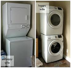 over under washer dryer. Stackable Gas Washer And Dryer Stacked Small Over Under D