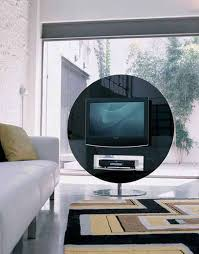Circular Display Stands Adorable Swivel TV Stand From Bonaldo By Gino Carollo Swivel Stands