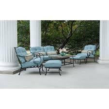 hanover patio furniture. Home Interior: Enormous Hanover Outdoor Furniture Oceana 6 Piece Lounging Set Walmart Com From Patio O