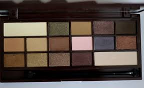 makeup revolution i heart chocolate eye shadow palette review swatches photos 5