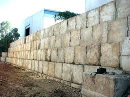 concrete block wall repair walls foundation how to crumbling retaining fix b
