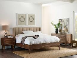 wood and upholstered beds. Wood Upholstered Bed Popular Crawford By Brownstone Furniture Pertaining To 9 And Beds