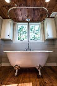 tiny house bathtub claw foot tub with shower tiny house tiny house on wheels bathroom ideas
