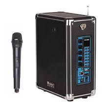 portable outdoor speakers. 50w high power portable outdoor speakers wireless microphone support tf card and usb disk lithium