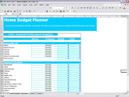 Household Expenses Calculator Budget Creator Excel Magdalene Project Org