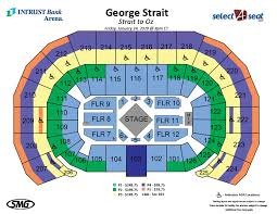 Intrust Bank Arena Detailed Seating Chart Best Picture Of