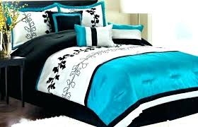 blue and black bedding sets quirky lime green teal turquoise white beige comforter fancy queen bed