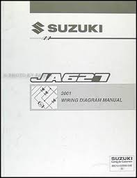 2001 suzuki xl 7 wiring diagram original